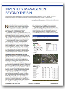 Beyond the Bin - Powder Bulk Engineering March 2019